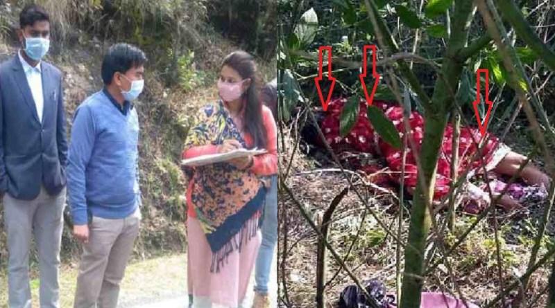 उत्तराखंड के अल्मोड़ा में दिल दहला देने वाली घटना सामने आई है। देवलीखेत इलाके में एक महिला की बेरहमी से हत्या कर दी गई है।
