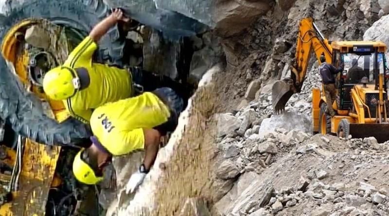 उत्तराखंड: लैंडस्लाइड की चपेट में आए काम से लौट रहे मजदूर, जेसीबी-पोकलैंड समेत हुए दफन, दर्दनाक मौत