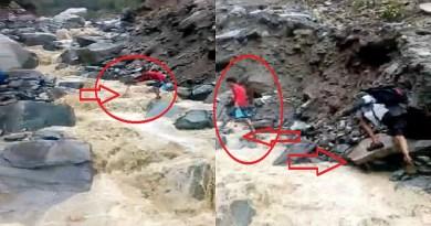 उत्तराखंड के पहाड़ी जिलों में बारिश लोगों का हाल बेहाल है। नदियां और नाले ऊफान पर हैं। भूस्खलन से तबाही मची हुई है।