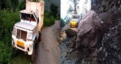 उत्तराखंड में बारिश से अक्सर पहाड़ों में भूस्खलन के चलते हादसे की खबरें आती रहती हैं। नैनीताल विधानसभा क्षेत्र के बलूटी गांव के पास बोल्डर गिरने से हादसा हुआ है।