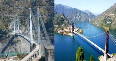 डोबरा-चाठी पुल के उद्घाटन का काउंटडाउन शुरू, पुल पर 15.5 टन वजन डालकर होगी फाइनल लोड टेस्टिंग