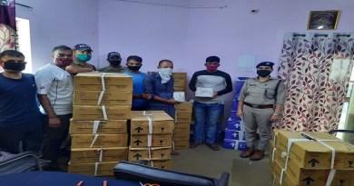 उत्तरकाशी में अवैध शराब के कारोबारियों पर पुलिस का शिकंजा, पकड़ी गई 60 पेटी शराब, दो गिरफ्तार