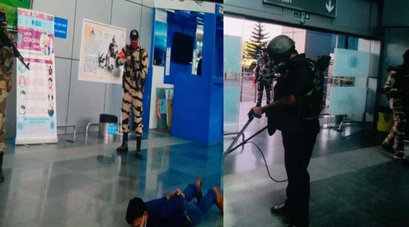 मॉक ड्रिल: देहरादून एयरपोर्ट पर बम मिलने से हड़कंप, सुरक्षबलों ने आतंकी को किया गिरफ्तार!