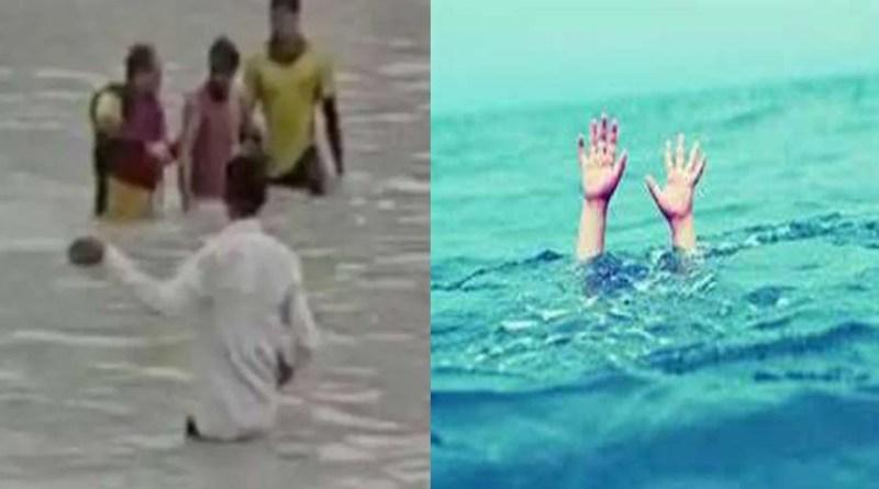 हरिद्वार: गंगा में डूब रहे युवक के लिए लोग बने 'फरिश्ते', एक किलोमीटर की दूरी में ऐसे किया रेस्क्यू
