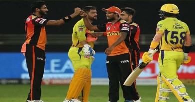 IPL 2020: हैदराबाद और चेन्नई के बीच हुआ रोमांचक मुकाबल, 7 रनों से हारी 'टीम धोनी'