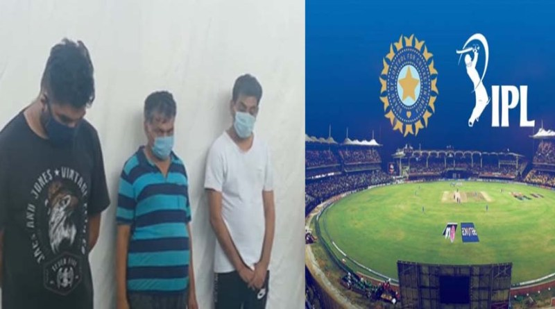 दून पुलिस ने सटोरियों पर कसा शिकंजा, IPL पर सट्टा लगाते 4 सटोरी गिरफ्तार, 25 लाख रुपये कैश, टीवी-मोबाइल जब्त
