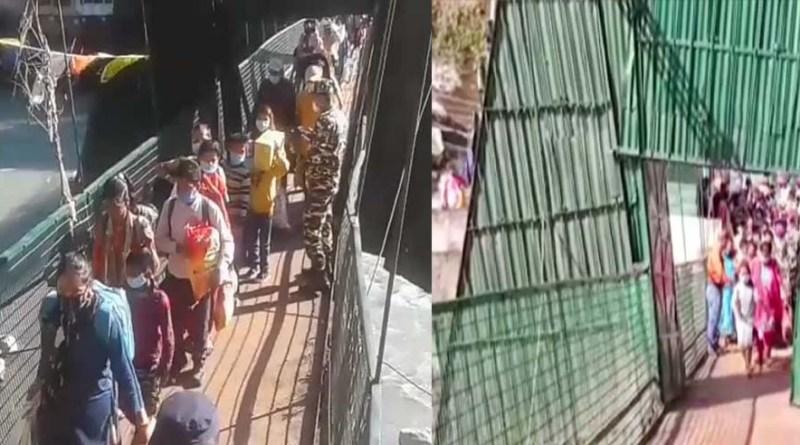 उत्तराखंड प्रशासन ने फिर दिखाई दरियादिली, नेपाल की मदद के लिए खोला अंतरराष्ट्रीय झूलापुल