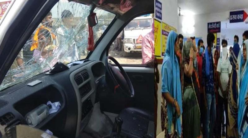 रुद्रपुर: युवक की मौत पर परिजनों ने काटा 'बवाल', एम्बुलेंस पर किया पथराव, डॉक्टरों पर लापरवाही का आरोप