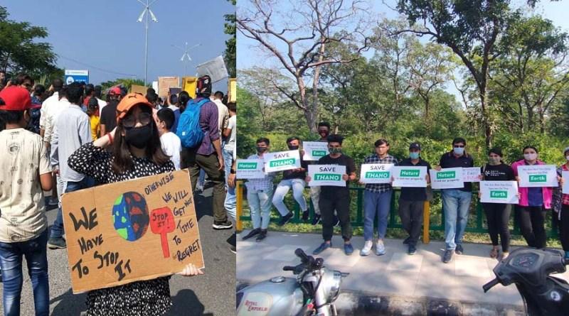 वीडियो: देहरादून एयरपोर्ट के लिए जंगल काटने का विरोध, 'थानो बचाओ' नारे के साथ सड़कों पर लोग