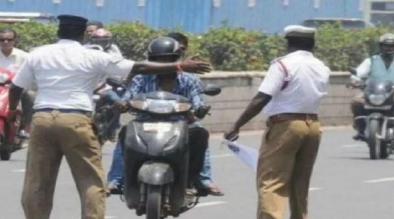 चमोली में यातायात के नियम तोड़ने पर ट्रैफिक कंट्रोल पुलिस ने 50 के करीब गाड़ियों पर कार्रवाई की है।