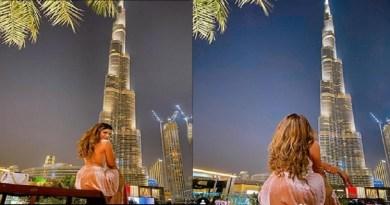 अभिनेत्री उर्वशी रौतेला की हॉट तस्वीरें आईं सामने, दुबई में छुट्टियों का आनंद लेती दिखीं