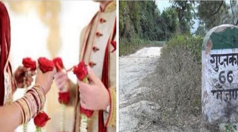 रुद्रप्रयाग जिले के गुप्तकाशी में एक महिला ने दूसरी शादी करने जा रहे पति को सबक सिखाया और उसकी दूसरी शादी रुकवाई।