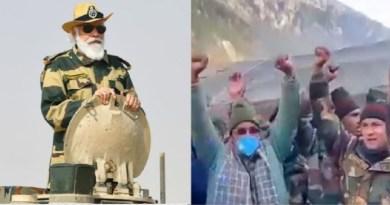 प्रधानमंत्री नरेंद्र मोदी ने हर साल की तरह इस बार फिर बॉर्डर पर जवानों के साथ दिवाली मनाई और उनका उत्साह बढ़ाया।