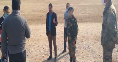 कोटद्वार: 20 दिसंबर से सेना भर्ती रैली, कोविड नियमों का रखा जाएगा खास ख्याल