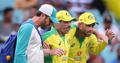 ऑस्ट्रेलिया के सलामी बल्लेबाज डेविड वॉर्नर भारत के खिलाफ बाकी के बचे सीमित ओवरों के मैच में नहीं खेंलगे।