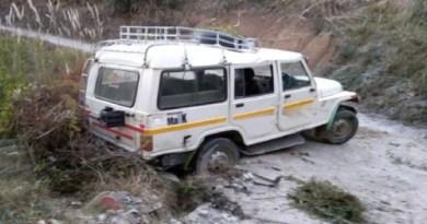 पिथौरागढ़ में कनालीछीना में एक सड़क हादसे में तीन लोग घायल हो गए। सभी को अस्पताल में भर्ती कराया गया है।