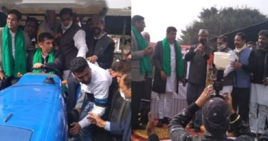 दिल्ली के बॉर्डर पर किसानों का आंदोलन 42 दिनों से जारी है। उत्तराखंड के पूर्व मुख्यमंत्री हरीश रावत ने किसानों के समर्थन ट्रैक्टर मार्च निकाला।