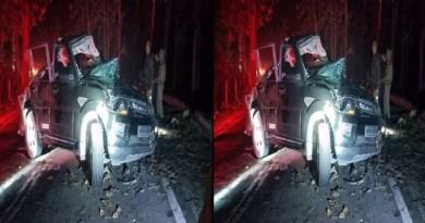 उत्तराखंड के हल्द्वानी में भीषण सड़क हादसा हुआ है। गौलापार-चोरगलिया हाईवे पर एक तेज रफ्तार स्कॉर्पियो डिवाइडर टकरा गई।