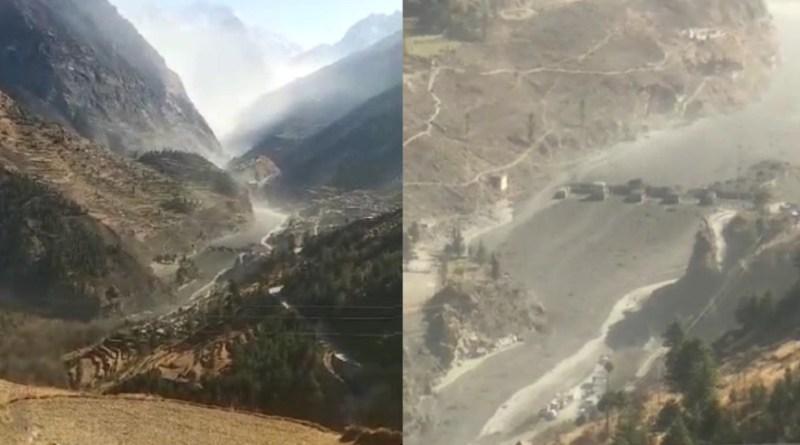 उत्तराखंड के जोशीमठ के रैनी में ग्लेशियर फटने से तबाही मचने की खबर है। बताया जा रहा है कि ग्लेशियर फटने से से धौली नदी में बाढ़ आ गई है।