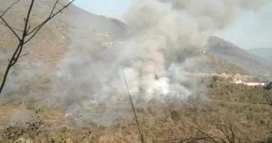 पौड़ी गढ़वाल के वन रेंज सतपुली के अंतर्गत ग्राम चमासू की सरहद के जंगलों में भीषण आग लगने से अफरा-तफरी फैल गई।