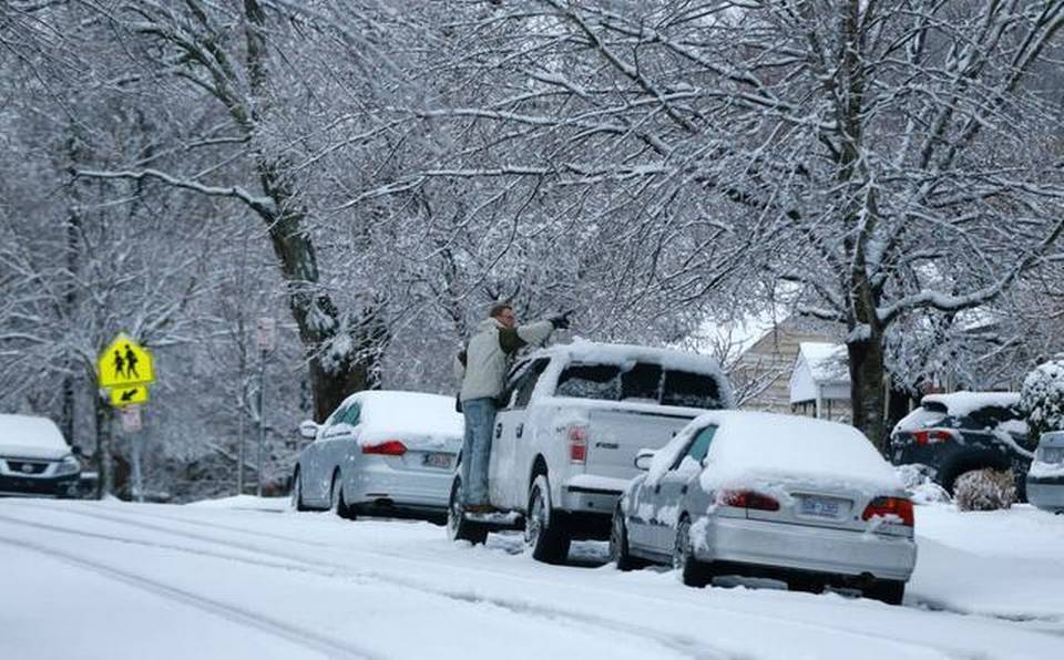 Officials Warn That Thursday's Snow Will Become Friday