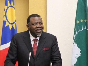 Namibian President