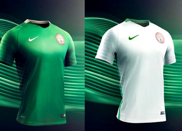 fe52eda8bcc Nike Launches New 'Dri-FIT Technology' Super Eagles' Home & Away Jerseys  (Photo)