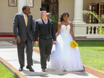 Nelius Mukami and Isaac Mwaura