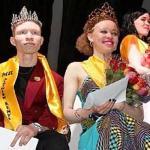 mr and miss albino