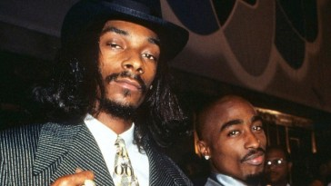 snoop dogg and 2pac