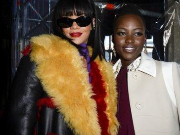Lupita and Rihanna