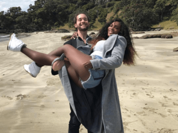 Serena Williams And Fiancee Alexis Ohanian