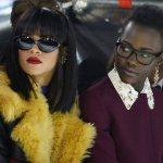 Rihanna and Lupita Nyong'