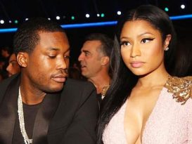 Meek Mill and Nick Minaj fight