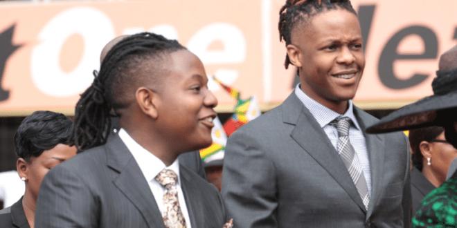Robert Junior and Bellarmine Chatunga Mugabe, South African citizenship