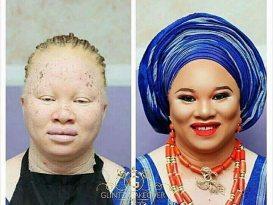 Albino Make up