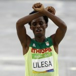 Exiled Ethiopia Athlete, Feyisa Lilesa, Keeps Running, Winning And Protesting