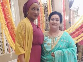 Ghana Meets India As Samira Bawumia Visits Set Of Popular Series Kumkum Bhagya And Meets Cast