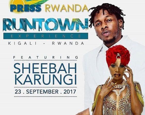 Sheebah Karungi And Runtown Set To Rock Rwanda