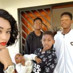 Ugandan Socialite Zari Hassan Showers Motherly Love To Family [Photos]