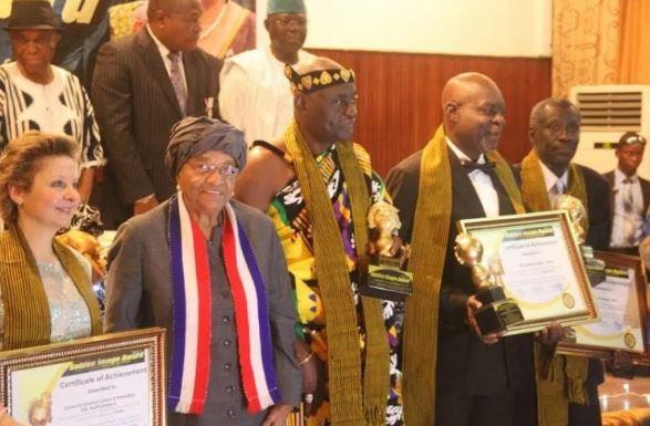 Ghanaian Actor Kofi Adjorlolo Honoured In Liberia