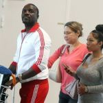 African-American Singer, Akon Spotted With One Of His Beautiful Wives In France [Photos]