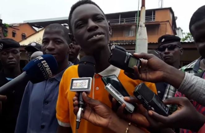 Hilarious: Watch This Thief Congratulating Police Officers For Arresting Him [Video]