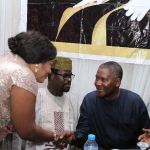 """""""Africa's Richest Man, Dangote Stood Up To Greet Me"""" - Nigerian Actress Foluke Daramola Gushes About His Humility"""