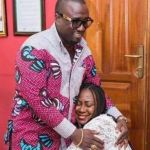 Picture Shows Ghanaian Broadcaster Gifty Anti Kneeling Before Her Husband, But She Quickly Disproves It