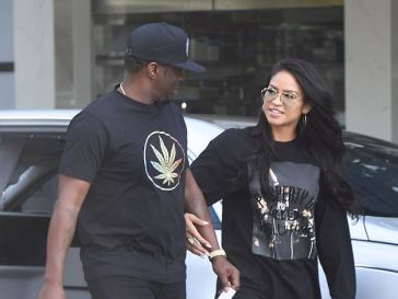 Rap Mogul, Diddy Seen Holding Hands With Girlfriend, Cassie As He Takes Her On Lingerie Shopping