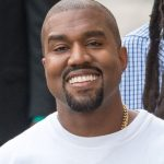 kanye west, smiling