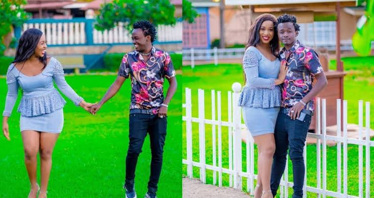 Bahati and wife Diana Marua