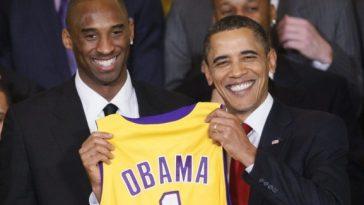 Kobe Bryant and Barack Obama