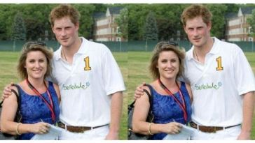 Rebecca English and Prince Harry